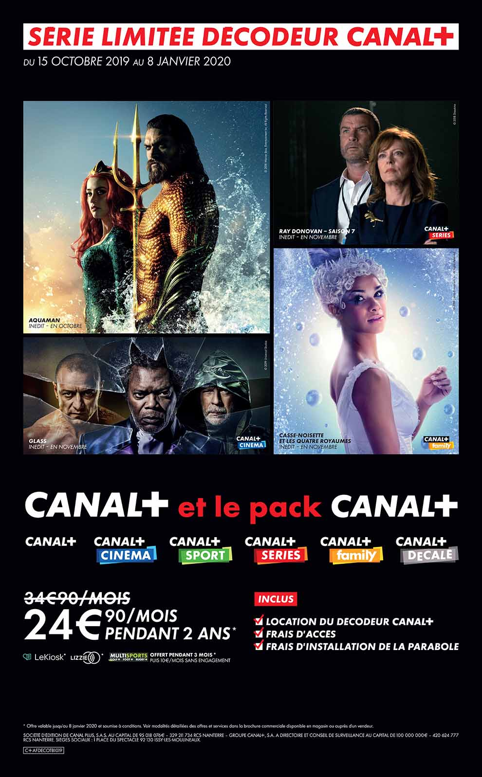 Offre Canal